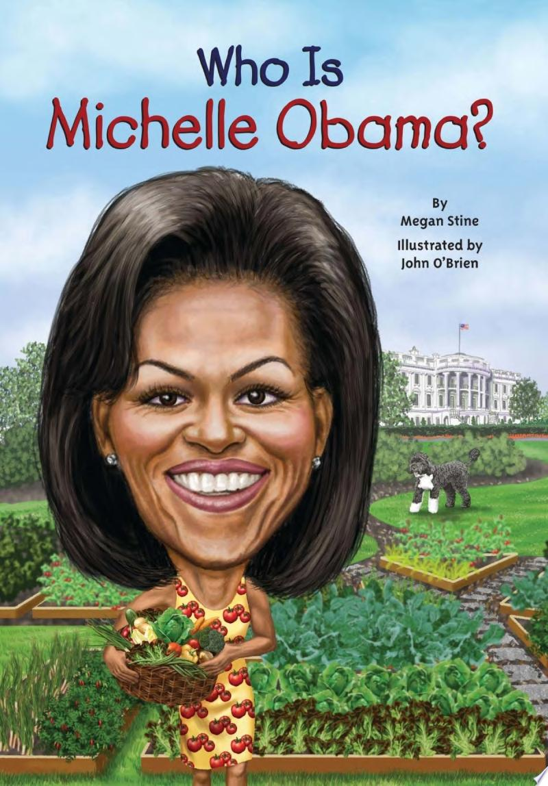 "Image for ""Who Is Michelle Obama?"""