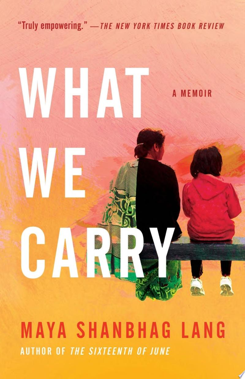 "Image for ""What We Carry"""