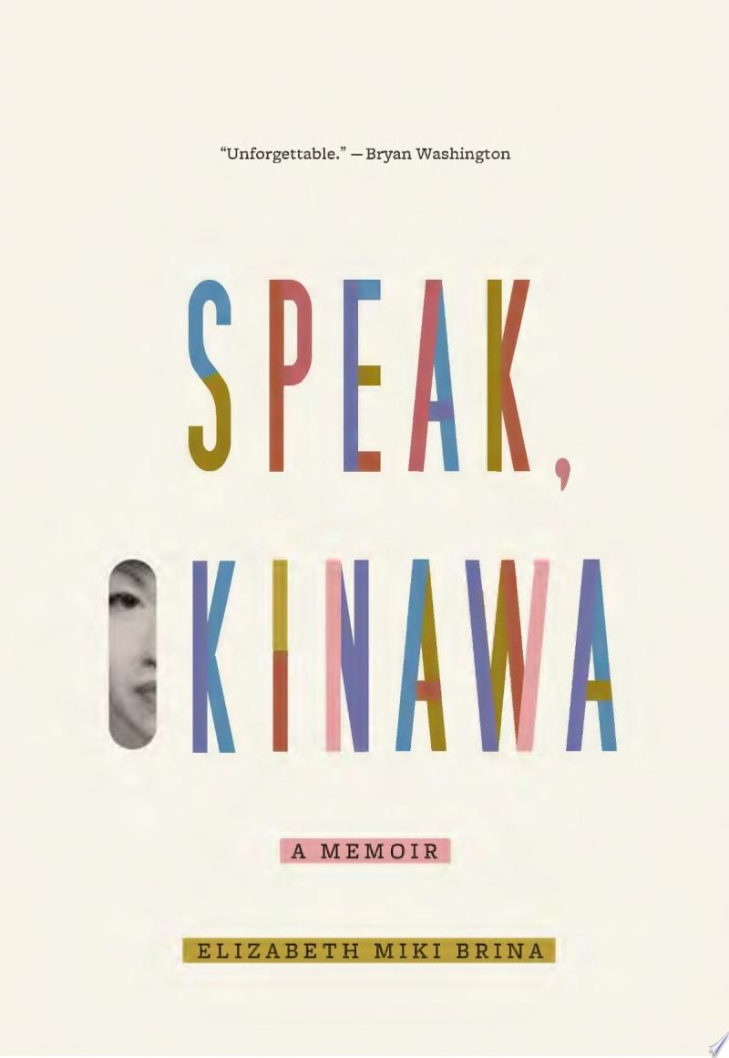 "Image for ""Speak, Okinawa"""