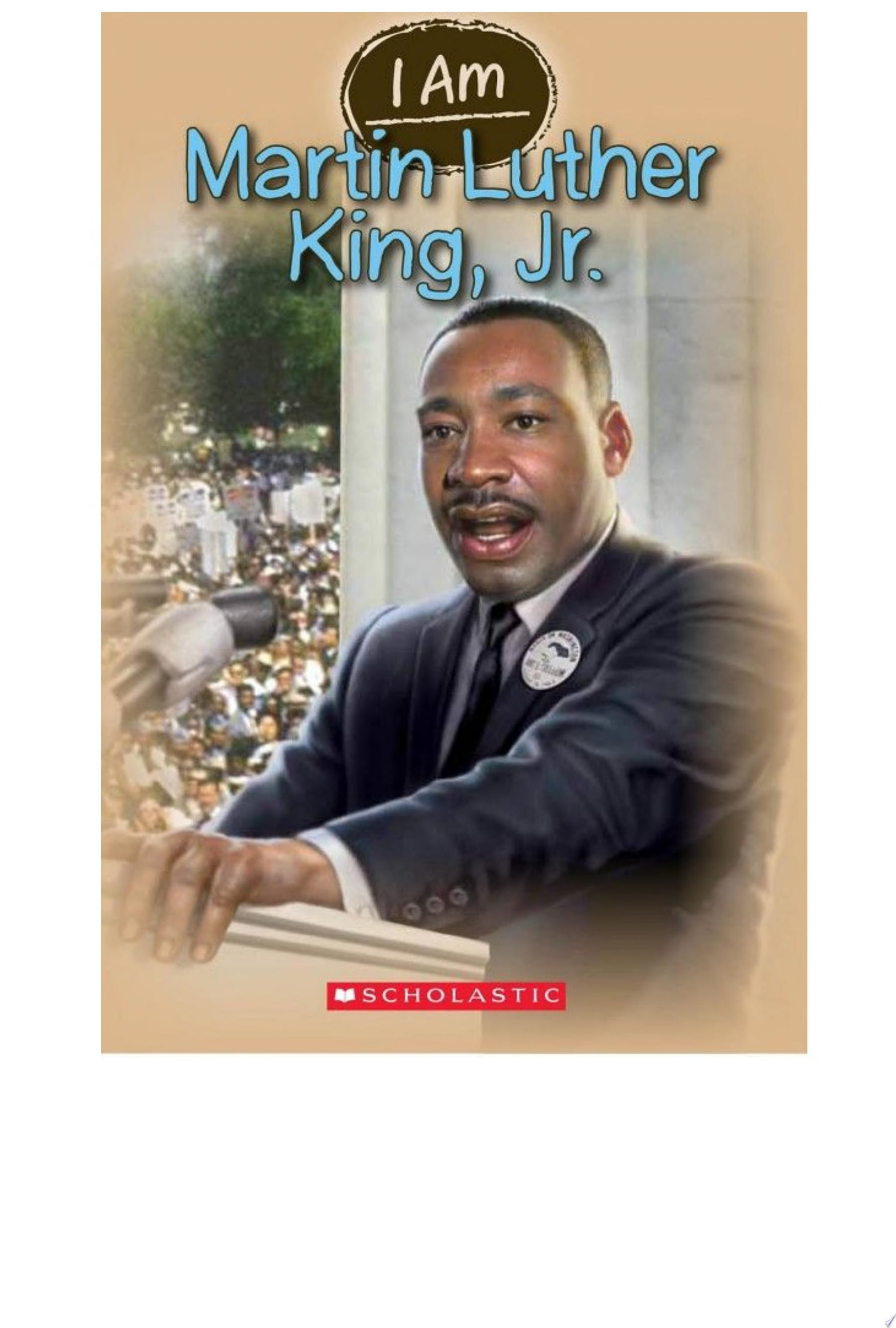 "Image for ""I Am: Martin Luther King Jr."""