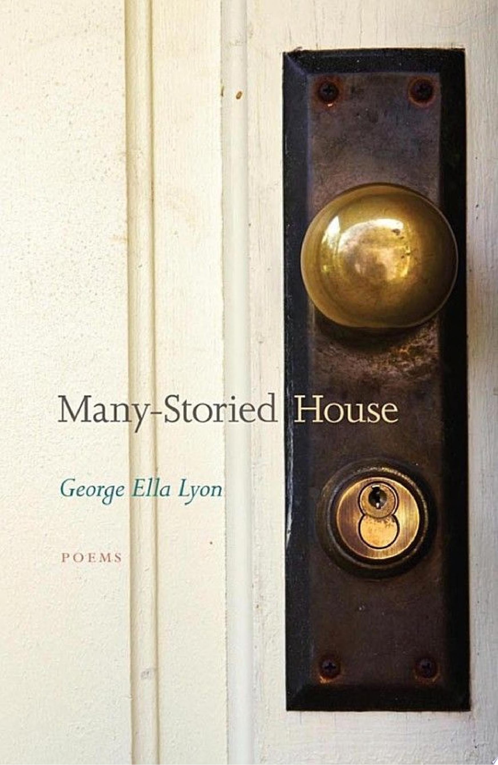 "Image for ""Many-Storied House"""