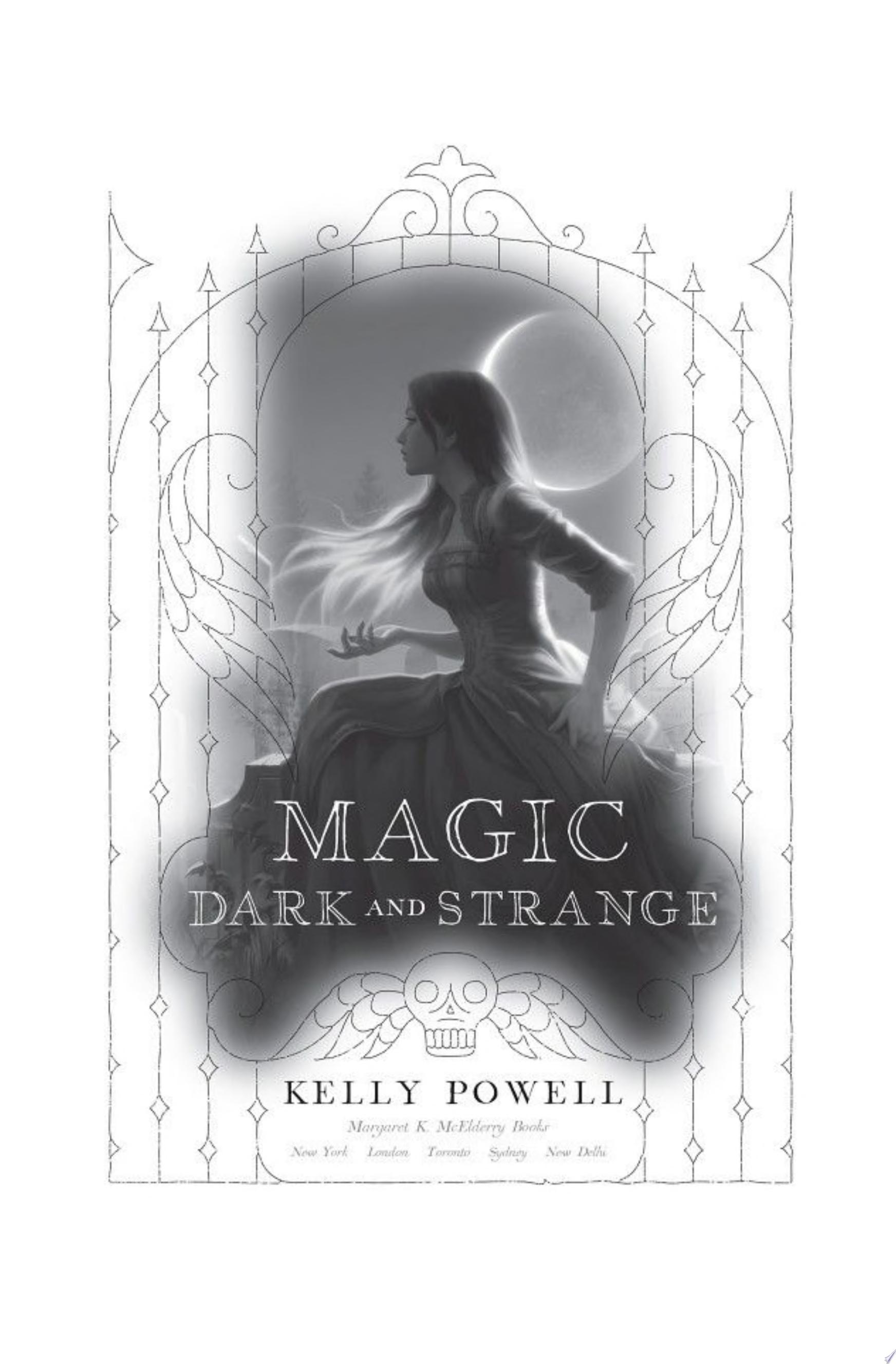 "Image for ""Magic Dark and Strange"""