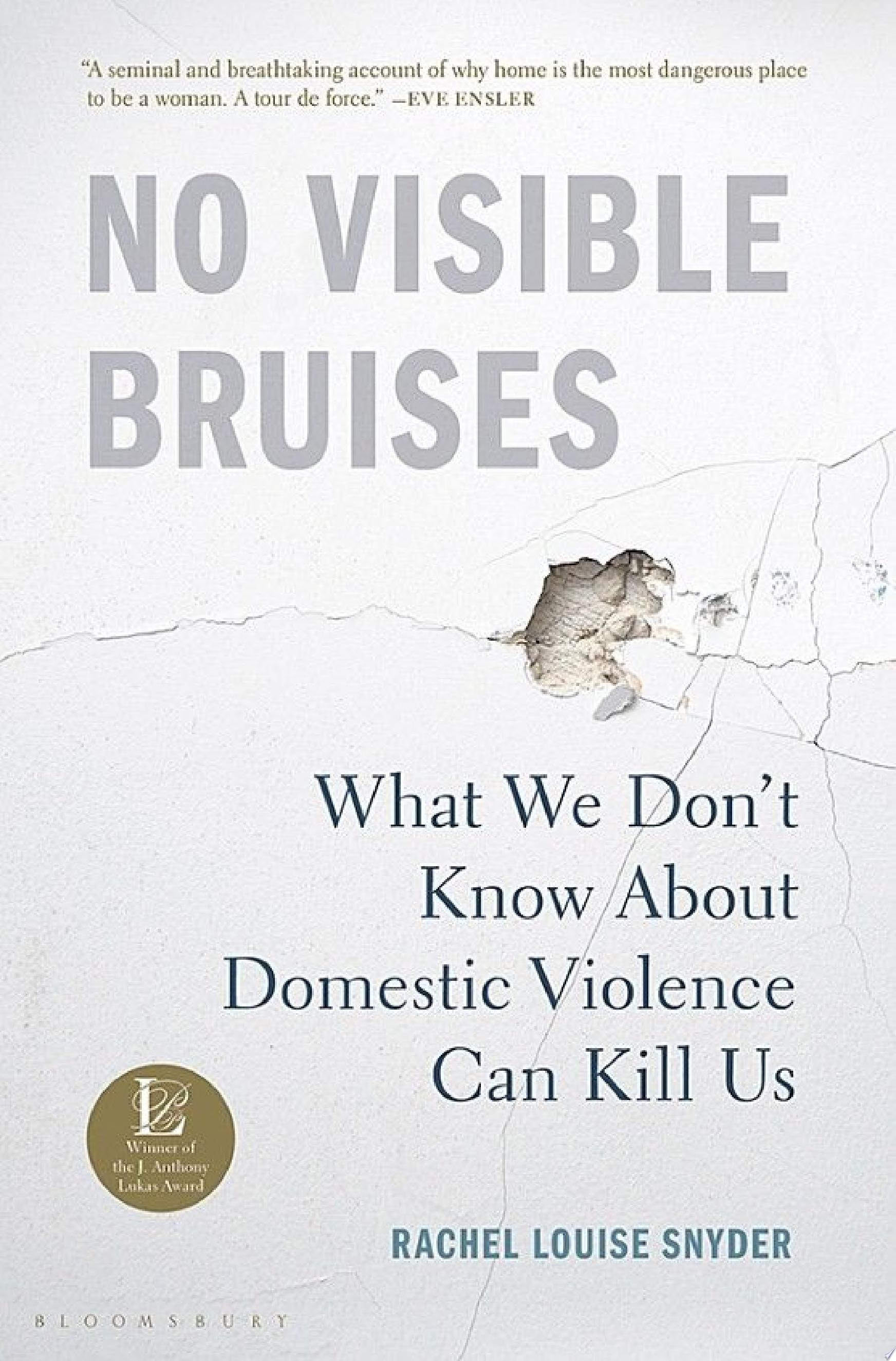 "Image for ""No Visible Bruises"""