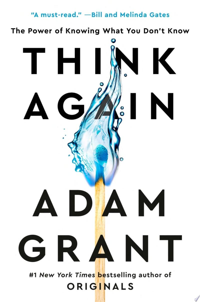 "Image for ""Think Again"""