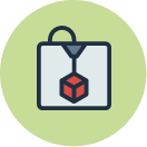 Lab and Makerspace quick link hover icon