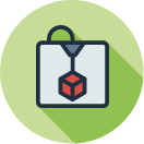 Lab & Makerspace quick link icon