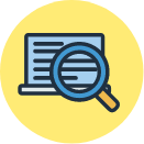Research quick link hover icon