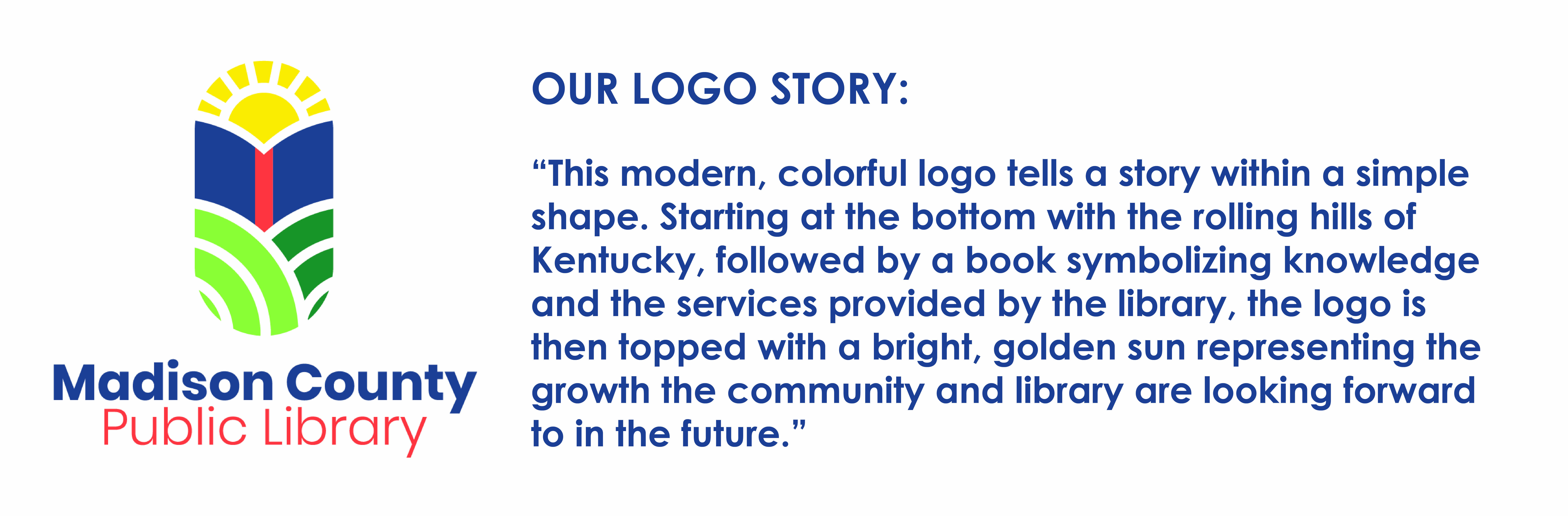 Story of the new library logo